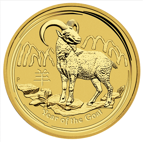 2015 Gold Year of the Goat