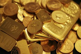 Gold bars and coins 05.16.13