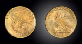 $20 Gold - Indian