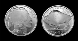 1 oz. Silver Rounds